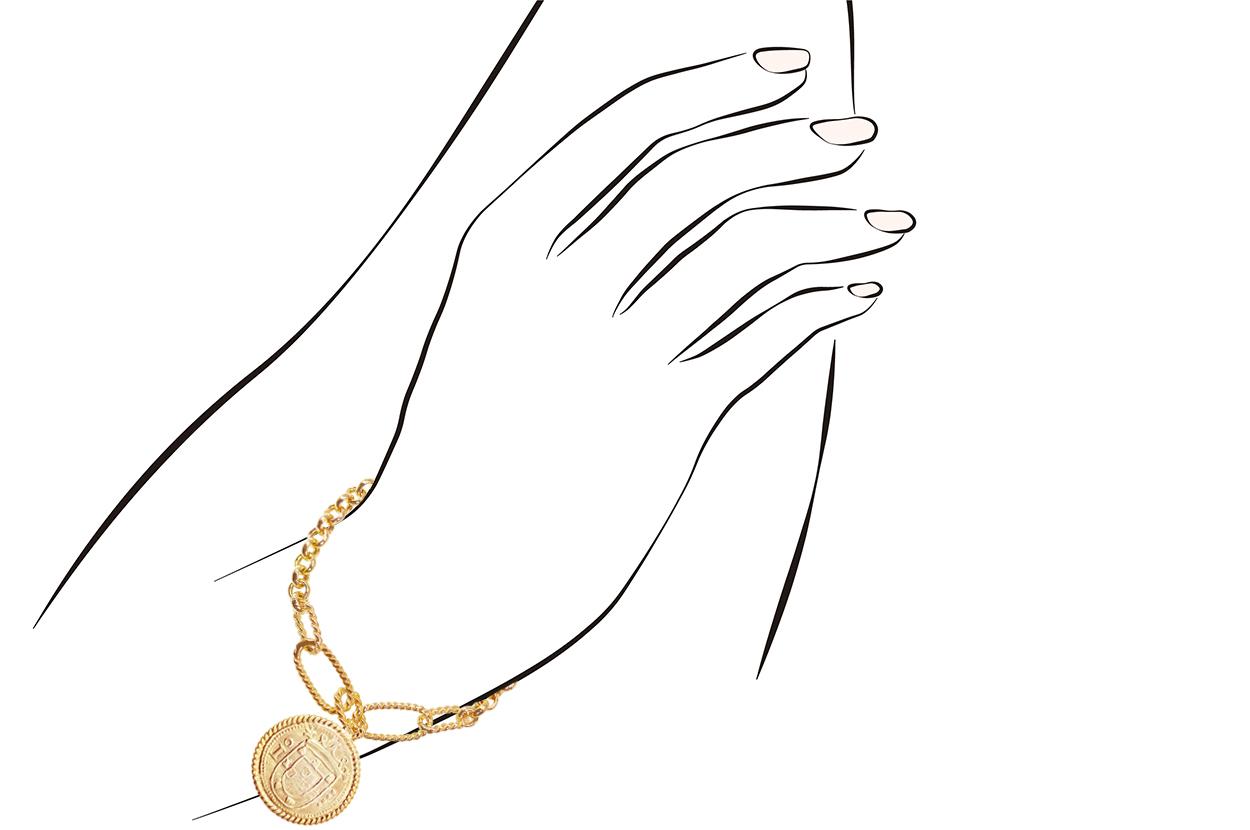 Joia: pulseira;Material: prata 925;Peso: 8.2 gr;Cor: amarelo;Medida Fio:  cm;Medida Pendente:   cm;Género: mulher