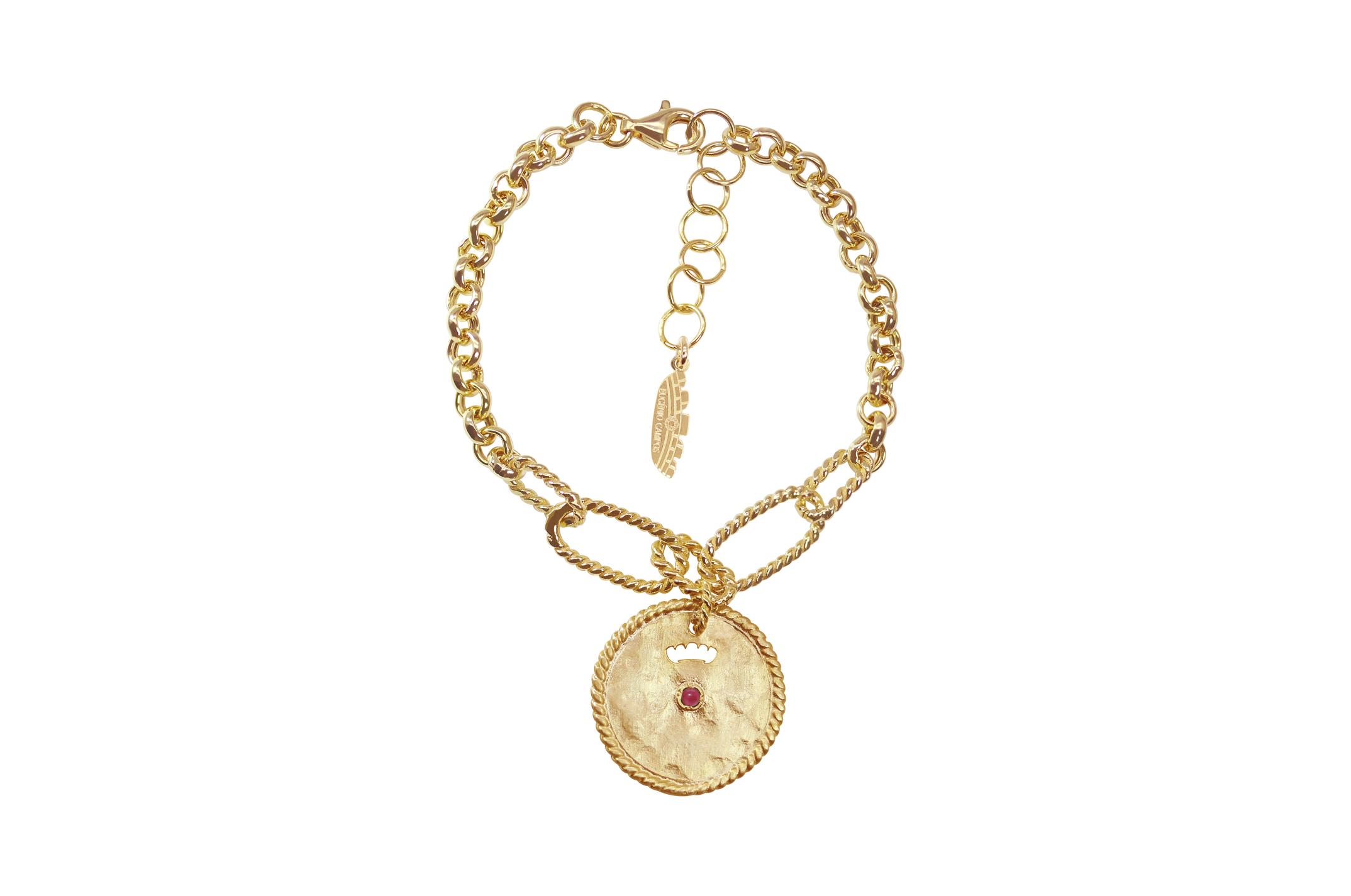 Joia: pulseira;Material: prata 925;Peso: 7.10 gr;Pedras: quartzo;Cor: amarelo;Medida Fio: 15 + 3 cm;Medida Pendente:  2 cm;Género: mulher
