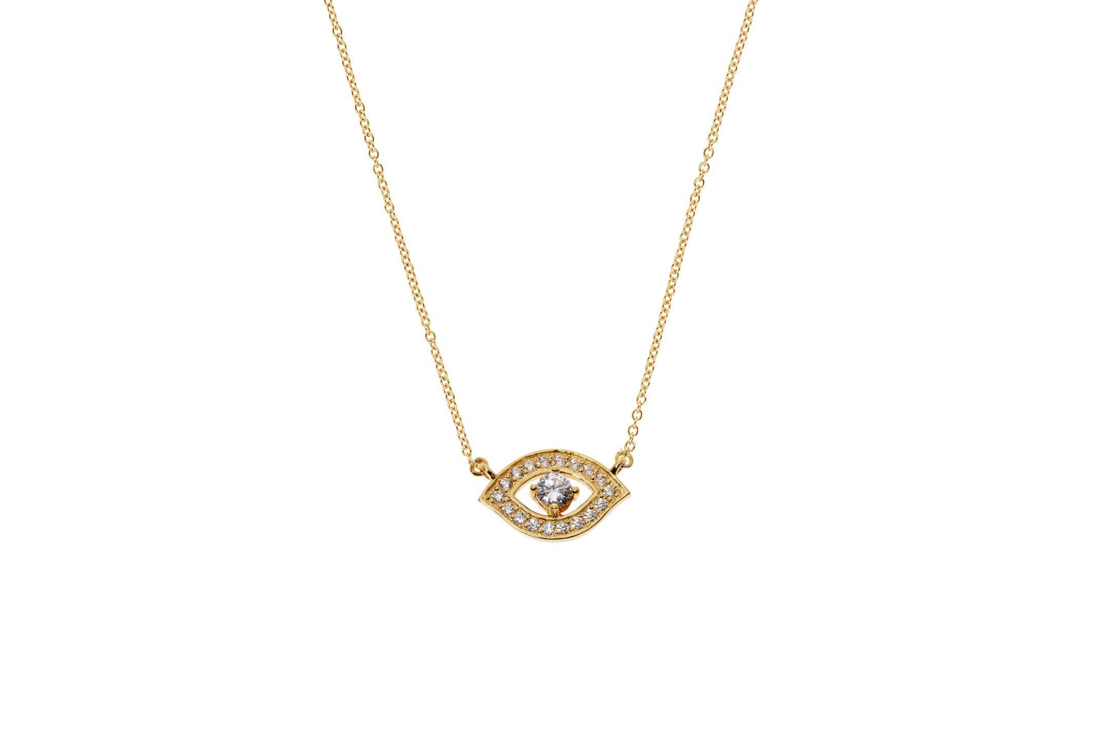 Joia: colar;Material: prata 925;Peso: 3.0 gr;Pedras: zircónias;Cor: amarelo;Medida (Fio): 40 + 3 cm;Medida (Pendente): 1 cm;Género: mulher