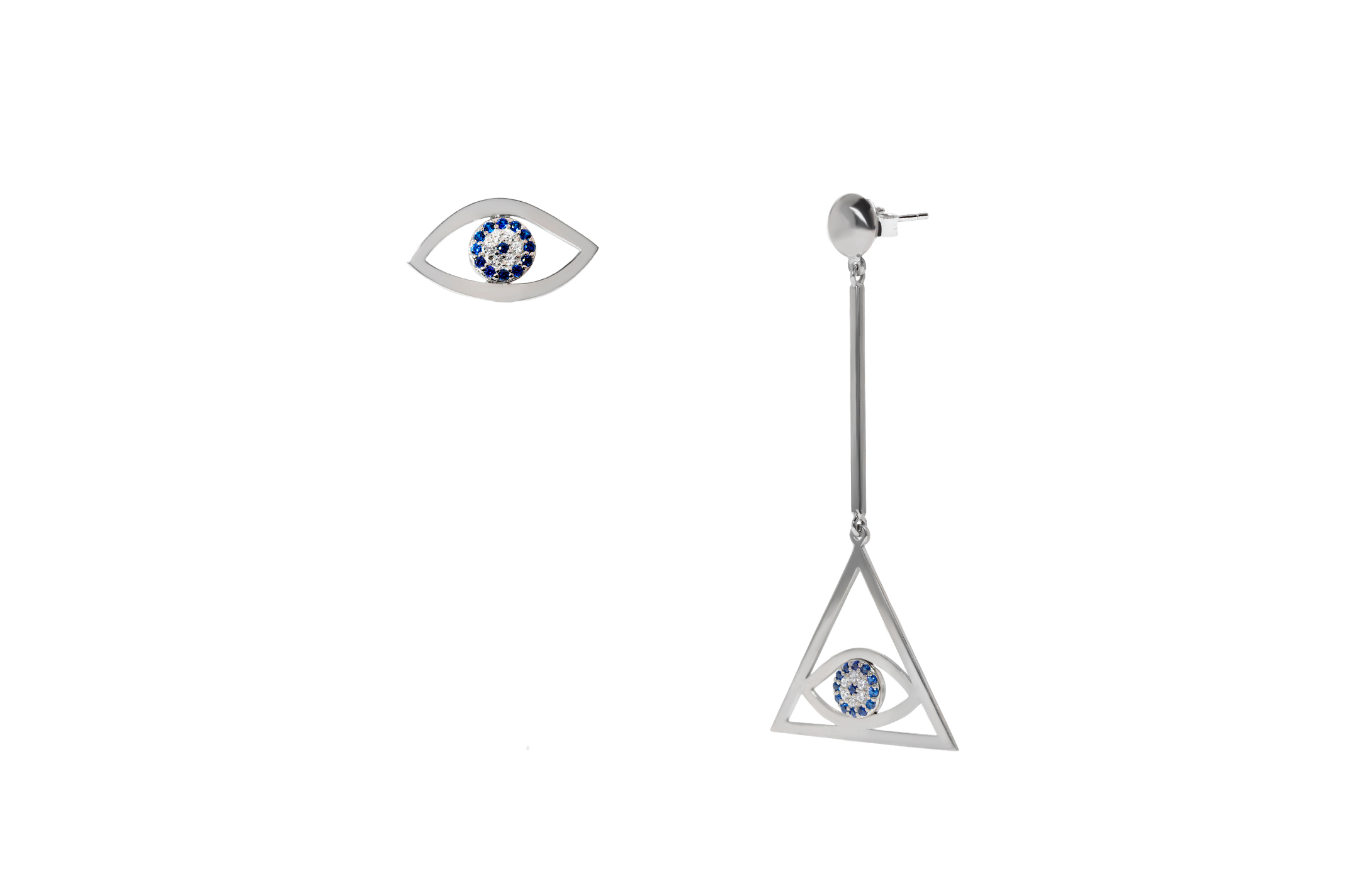 Joia: brincos;Material: prata 925;Pedras: zirconias;Cor: branco;Género: mulher