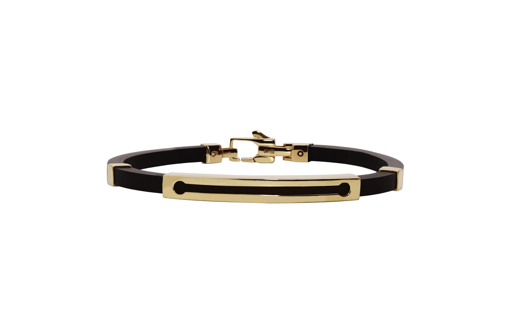 Joia: pulseira;Material: ouro 19.25 kt;Peso: 12.3 gr;Cor: amarelo;Medida Largura: 0.5 cm;Media Comprimento: ajustável a pedido;Género: homem