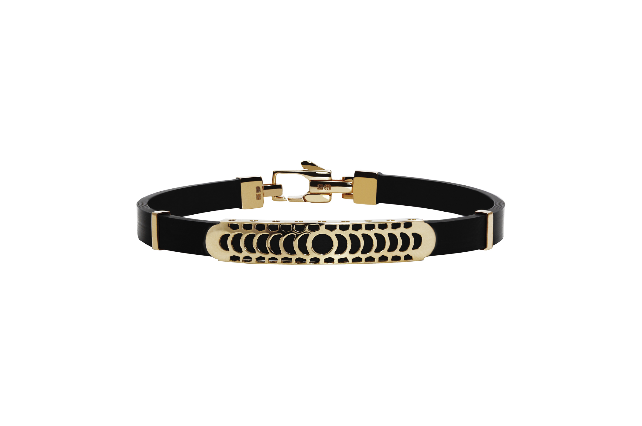 Joia: pulseira;Material: ouro 19.25 kt;Peso: 7.9 gr;Cor: amarelo;Medida Largura: 0.5 cm;Media Comprimento: ajustável a pedido;Género: homem