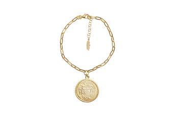 Joia: pulseira;Material: prata 925;Peso: 6.5 gr;Cor: amarelo;Medida Fio: 16.0 + 3.0 cm;Género: mulher
