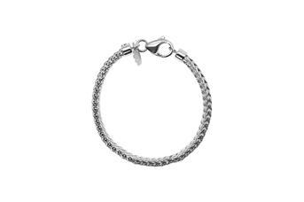 Joia: pulseira;Material: prata 925;Peso: 18.8 gr;Cor: branco;Medida: cm;Género: homem