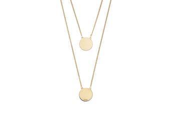 Joia: colar;Material: prata 925;Peso: 4.80 gr;Cor: amarelo;Medida (Fio): 60 cm;Medida (Pendente): 1.2cm;Género: mulher
