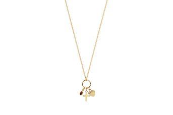 Joia: colar;Material: prata 925;Peso: 1.4 gr;Pedra: zircónia;Cor: amarelo;Tamanho: 42 cm;Género: mulher