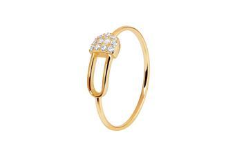 Joia: anel;Material: prata 925;Peso: 1.10 gr;Pedras: zircónias;Cor: amarelo;Género: mulher