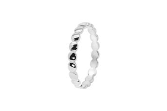 Joia: anel;Material: prata 925;Peso: 1.50 gr;Cor: branco;Género: mulher