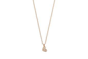 Joia: colar;Material: ouro 19.25 kt;Peso: 4.0 gr;Pedras: 8 diamantes 0.10 ct H/VS1;Cor: amarelo;Género: mulher