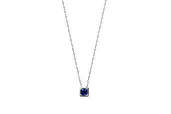 Joia: colar;Material: ouro 19.25 kt;Peso: 1.9 gr;Pedras: zircónia;Cor: branco;Tamanho: 40cm + 3 cm;Género: mulher