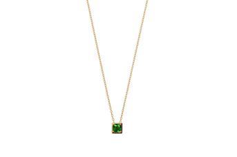Joia: colar;Material: ouro 19.25 kt;Peso: 1.9 gr;Pedras: zircónia;Cor: amarelo;Tamanho: 40cm + 3 cm;Género: mulher