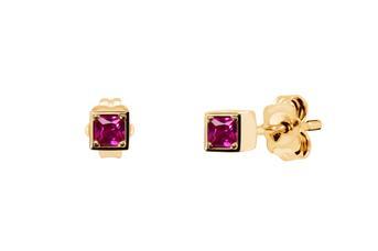 Joia: brincos;Material: ouro 19.25 kt;Peso: 1.9 gr;Pedras: zircónia;Cor: amarelo;Tamanho: ;Género: mulher