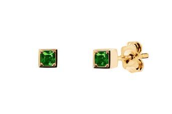 Joia: brincos;Material: ouro 19.25 kt;Peso: 1.6 gr;Pedras: zircónia;Cor: amarelo;Tamanho: ;Género: mulher